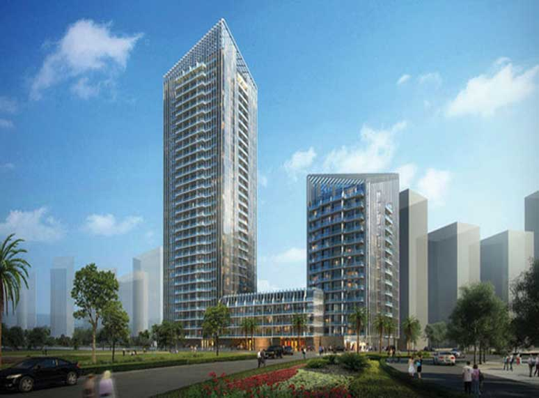 AMSAI is awarded Aluminum and Glazing works for Sparkle Towers