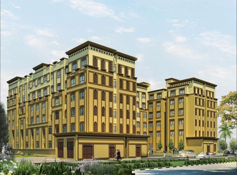 AMSC is awarded  DEWA 2 (G+5) Staff Accomodation Builings & associated Service Buildings - Dubai