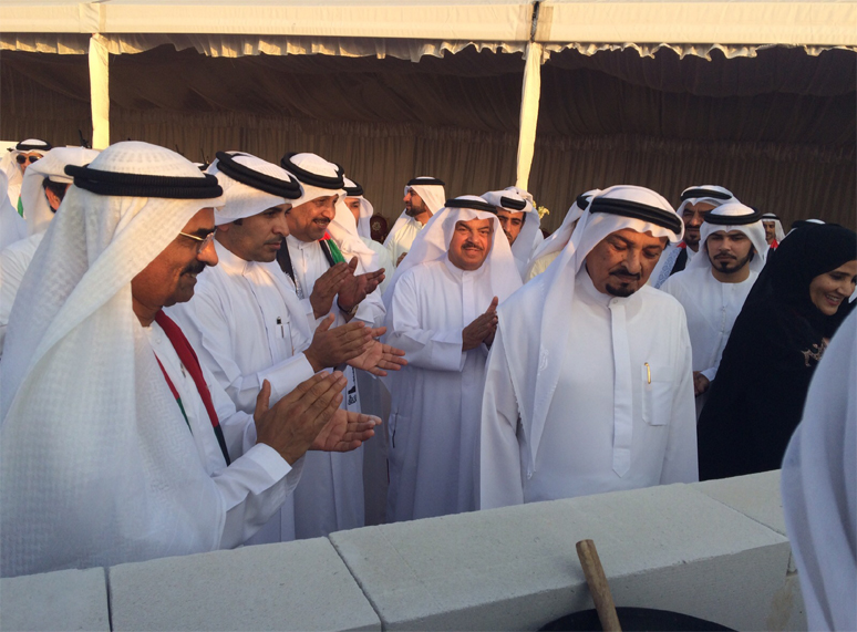Ruler of Ajman laid the foundation stone of Al Raghayeb 2 Residential Compound - 306 Villas in Ajman
