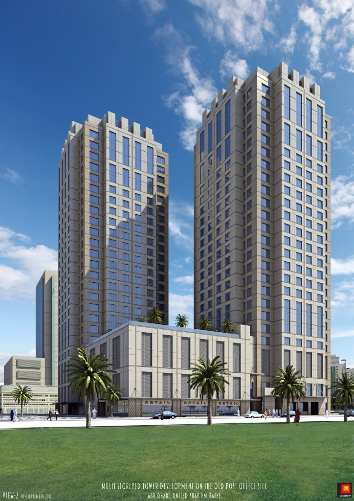AMSC is awarded a Residential & Commercial Tower in Abu Dhabi. For a total contract value of 322,582,618.00 AED
