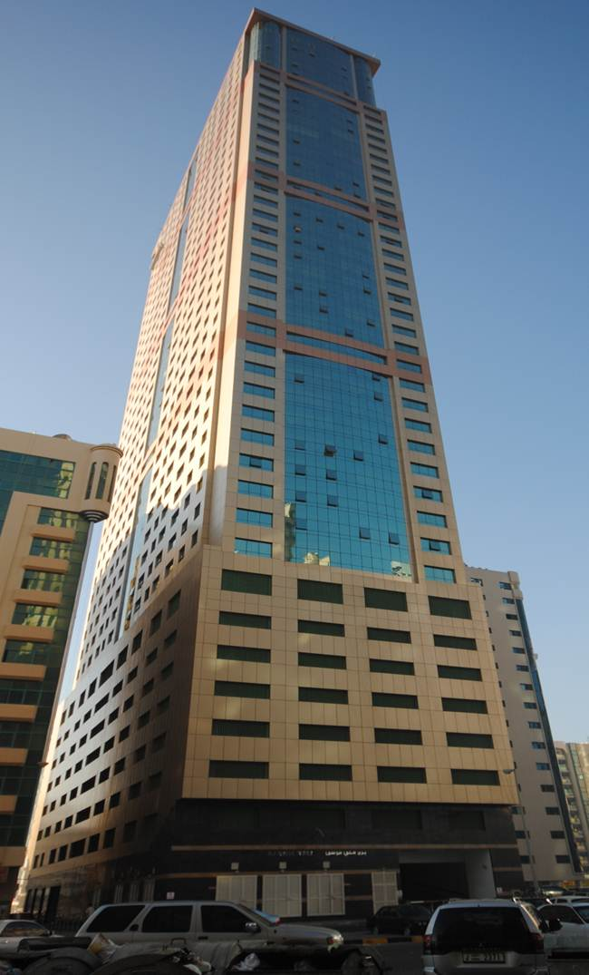 Orient Tower G + 42 + H. Club + Swimming Pool & Helipad – Sharjah