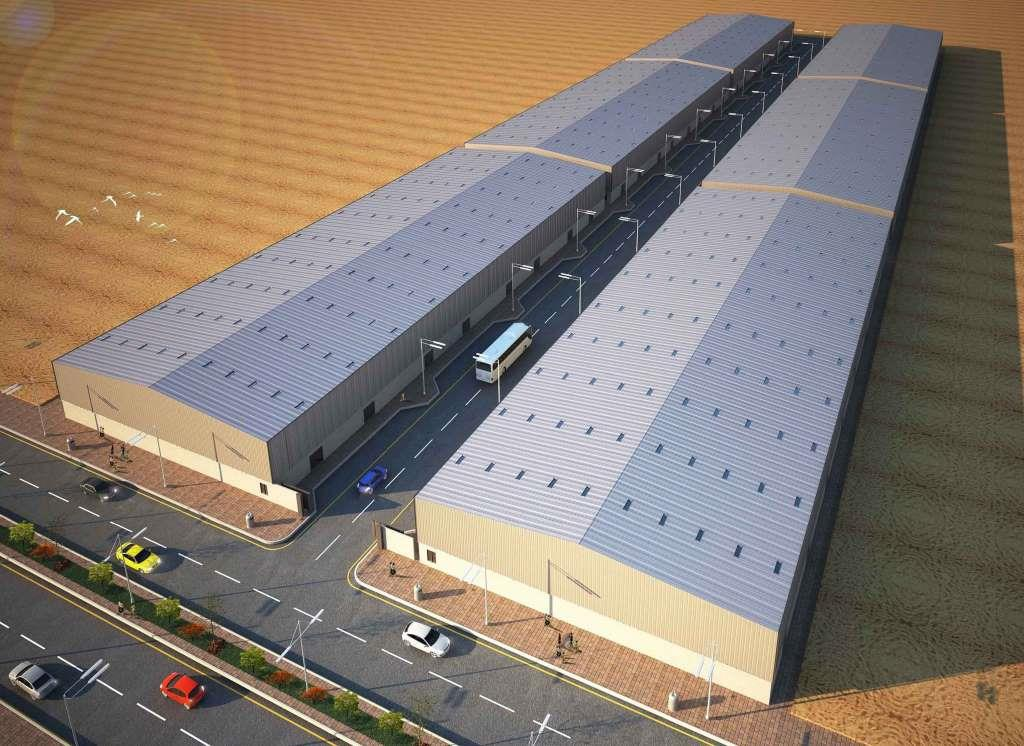 (g+ Mezzanine) 6 Warehouses Building - Dubai