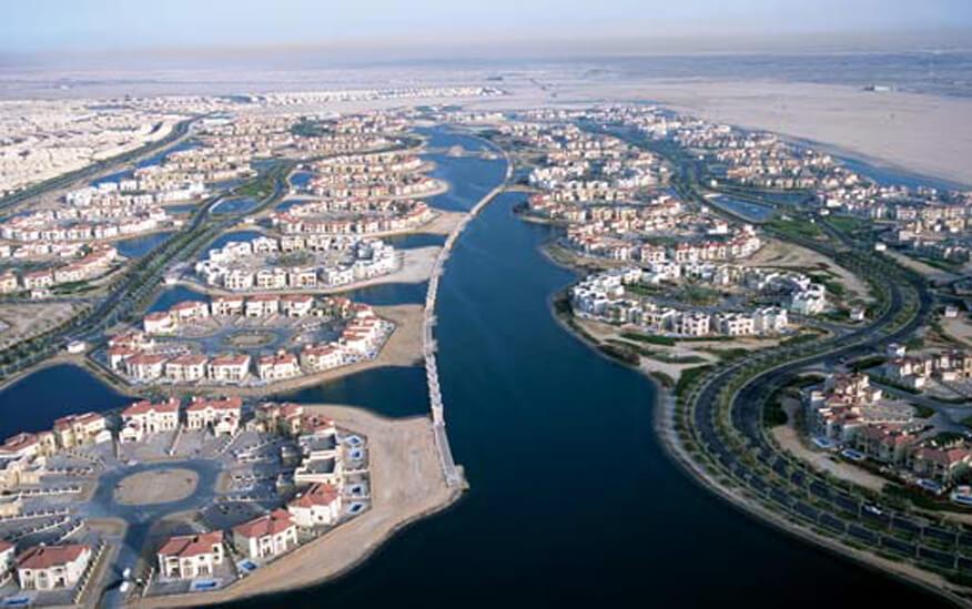Jumeirah Island Luxurious Villas