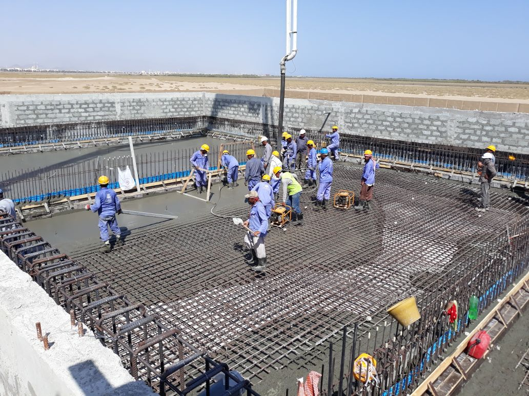 Marine Re-circulation Aquaculture Facility  - Fish Farm - Kalba  - Sharjah